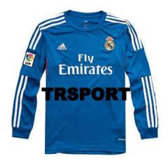 Real Madrid 2014 Uzun Kollu FORMA ve �ORT Away