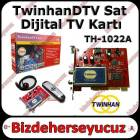 TwinhanDTV Sat TH-1022A PCI Dijital Uydu TV Kart