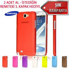 SAMSUNG GALAXY NOTE 2  KILIF 0.2mm ULTRA �NCE