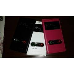 GALAXY NOTE 2 KILIF CAMLI PENCEREL� FL�P COVER