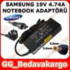 Samsung 19V 4.74A Notebook Adapt�r 5.5mm - 3.0mm