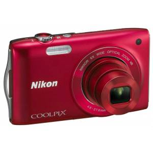 NIKON COOLPIX S3300 16 MP 6x OPT�K ZOOM 2.7 INCH