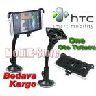 Htc One M7 ��in �zel Tasar�m Oto Tutucu+Sticker