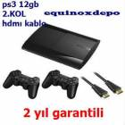 PLAYSTAT�ON 3 PS3 12GB + 2.KOL hediye