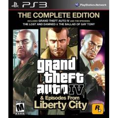 PS3 GTA 4 Grand Theft Auto IV Complete Edition
