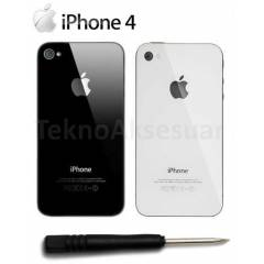 Apple iPhone 4 Arka Batarya Pil Kapa��