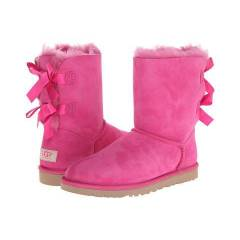 UGG Bailey Bow Princess Pink Twinface