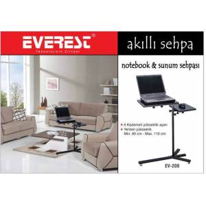 Everest EV-200 Siyah Ak�ll� Notebook Sehbas�