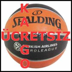 Spalding  Euroleague 7 No Basketbol Topu UKW