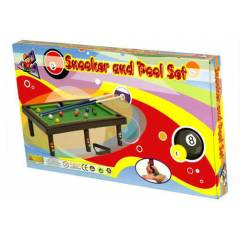 SNOOKER AND POOL SET B�LARDO (STK2954)
