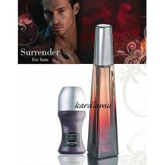 AVON ERKEK PARF�M SURRENDER EDT 2L� SET