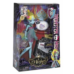 Monster high bebekleri 13 dilek LAGOONA BLUE