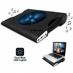 Laptop Notebook So�utucu Fan ve I��kl� Speaker