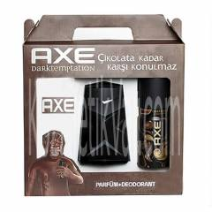 Axe Dark Temptation 2'li Set (Parf�m+Deodorant)