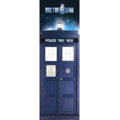 DOCTOR WHO TARDIS  DOOR POSTER �THAL
