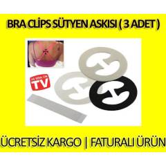 Bra Clips S�tyen Ask�s� ( 3 Adet )
