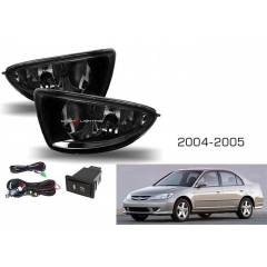 ModaCar SMOKE Honda Civic 2004-2005 Sis Far� Set