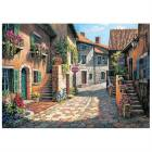 KS Games 1000 Par�a Puzzle Rue De Village