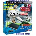 PLAYSTAT�ON3 - PS3 500 GB +HDMI+PES 2013 ORJ.