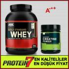 Optimum Whey Gold Standard - Creatine Paketi