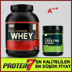 Gold Standard Whey - Creatine Powder Paket