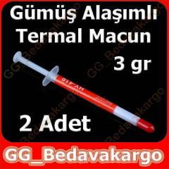 2 Adet Termal Macun Mini Boy G�m�� Ala��m