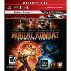 MORTAL KOMBAT KOMPLETE ED�T�ON PS3 OYUNU
