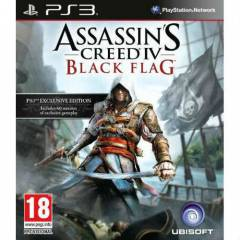 ASSASSINS CREED 4 BLACK FLAG PS3 OYUNU