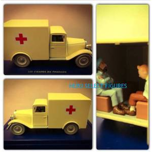 Tintin L'ambulance Model Araba (Tenten)