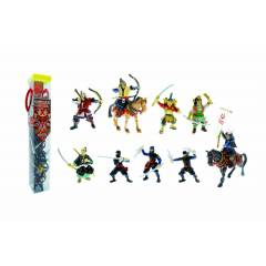 Plastoy Samuray ve Ninja Mini Fig�r T�p