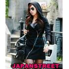 JAPON STYLE ELB�SE TARZI SWEAT FERMUAR / KAP�ON