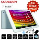"Codegen �ift�ekirdek 7""�iftKamera 8GB Tablet Pc"