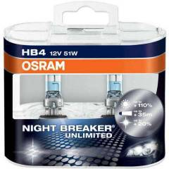 OSRAM Night Breaker Unlimited 12v HB4 51w Ampul
