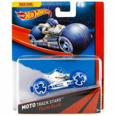 Hot Wheels Moto Track Stars Team Blue Yar�� Moto