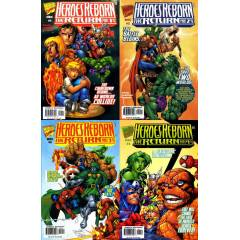 MARVEL -  Heroes Reborn The Return #1-4