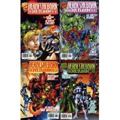 MARVEL -  Heroes Reborn The Return #1-4 Variants