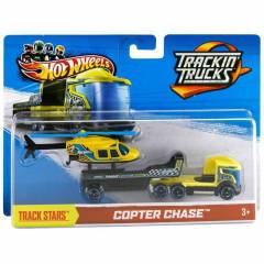Hot Wheels T�r Ve Araba Copter Chase