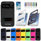 SAMSUNG GALAXY NOTE 2 KILIF FLIP COVER FULL SET