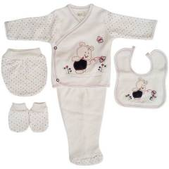 Bebitof 47620 Hastane ��k��� 5 li Set Sweet Bear