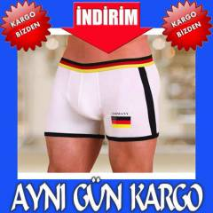 1086 GERMANY BOXER SHORT BEYAZ