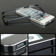 iphone 5 / 5S 0,6 mm Metal Bumper �er�eve + Film