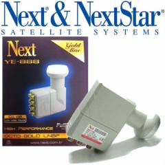 NEXT YE-888 GOLD 8 ��k��l� LNB FULL HD 8 li lnb