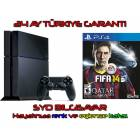 SONY PS4 500 GB + F�FA 2014 + 24 AY TURKIYE GARA