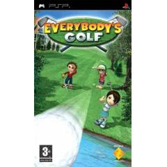 EVERYBODY'S GOLF PSP OYUNU