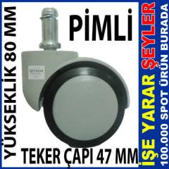 47MM P�ML� SANDALYE AYA�I MOB�LYA TEKERLE��