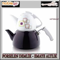 NOBLE L�FE PORSELEN - EMAYE �AYDANLIK SET LAB�RE