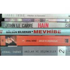 "John Le Carre ""HA�N"" ve 6 kitap"