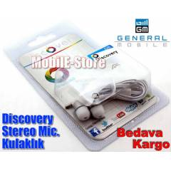 General Mobile Discovery Kulaki�i 3.5mm Kulakl�k