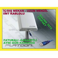 WIRELESS ADAPT�R KABLOSUZ ALICI UZUN MENZ�L