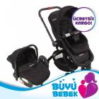 Kraft Twist Air Travel Bebek Arabas� Siyah